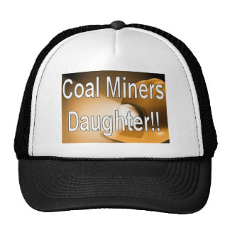 hija de los mineros de carbón gorras de camionero
