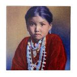 Hija de los plateros de Arizona Azulejo Ceramica