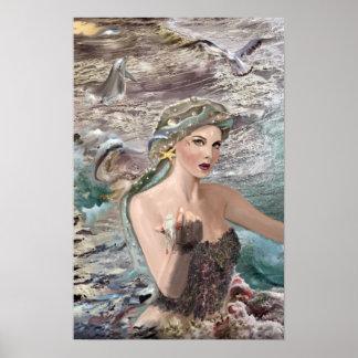 ¡Hija de Oceanus! Posters