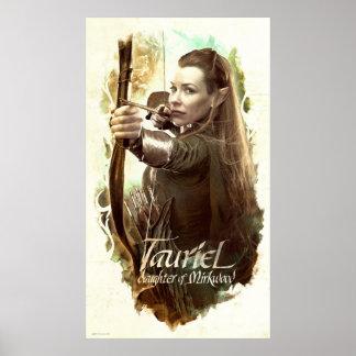 Hija de TAURIEL™ de Mirkwood Poster