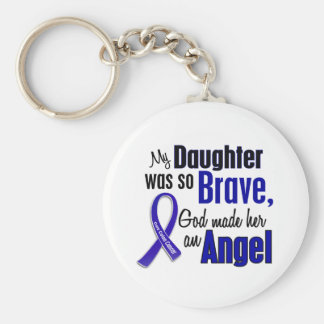 Hija del ÁNGEL 1 del cáncer de colon Llaveros
