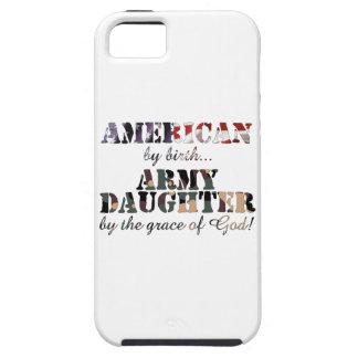 Hija del ejército por gracia de Dios iPhone 5 Funda