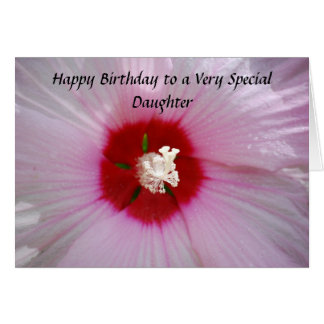 Hija del feliz cumpleaños felicitacion