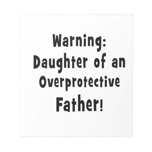 hija del negro sobreprotector del padre bloc de notas