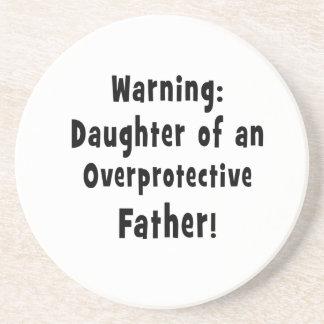 hija del negro sobreprotector del padre posavasos diseño
