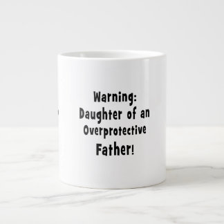hija del negro sobreprotector del padre tazas extra grande