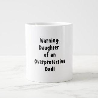 hija del negro sobreprotector del papá tazas jumbo