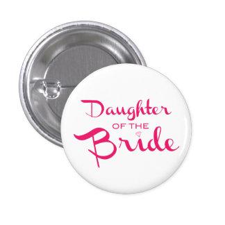 Hija del rosa del Pin de la novia en blanco