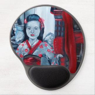 Hija del samurai alfombrilla gel