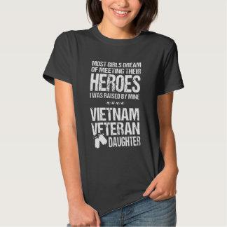 Hija del veterano de Vietnam Camisas