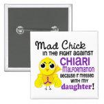Hija enojada de la malformación de Chiari del poll Pin