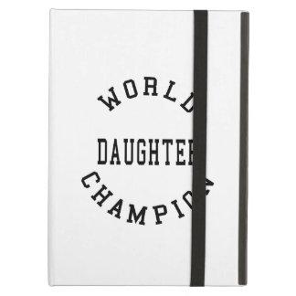 Hija fresca retra del campeón del mundo de los reg