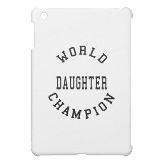 Hija fresca retra del campeón del mundo de los reg iPad mini protector