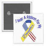 Hija - llevo un patriótico militar de la cinta pins