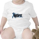 Hija mi héroe - esperanza del cáncer de colon traje de bebé