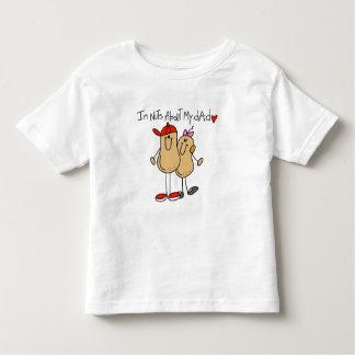 Hija - nueces sobre mis camisetas y regalos del playera de niño