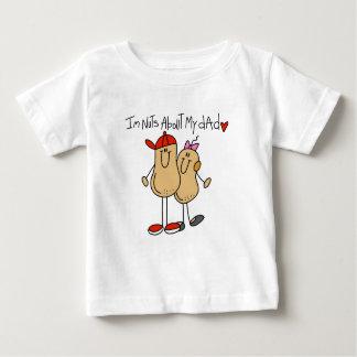 Hija - nueces sobre mis camisetas y regalos del remera