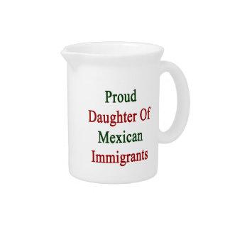 Hija orgullosa de inmigrantes mexicanos jarron