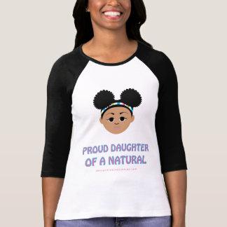 ¡Hija orgullosa del camisetas #Natural! ¡Grandes