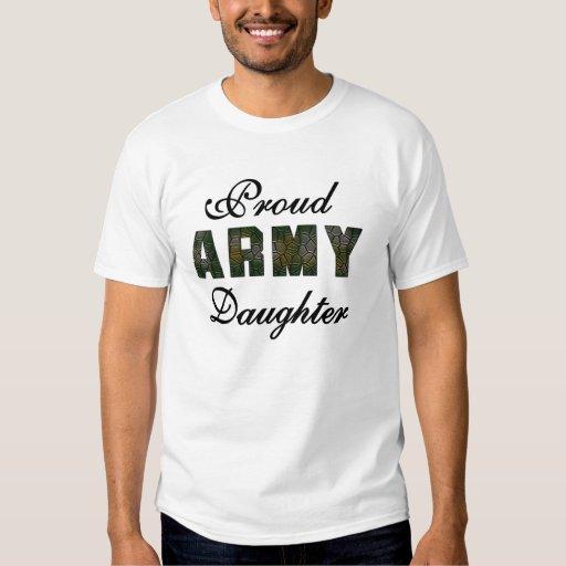 Hija orgullosa del ejército poleras