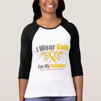 Hija tribal de la cinta del oro del CÁNCER de la Camiseta