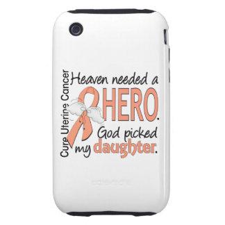 Hija uterina del cáncer del héroe necesario del iPhone 3 tough cárcasas