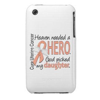 Hija uterina del cáncer del héroe necesario del iPhone 3 carcasa