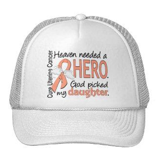 Hija uterina del cáncer del héroe necesario del gorros