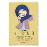 Hijab es libertad impresiones