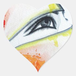 HIjab Heart Sticker