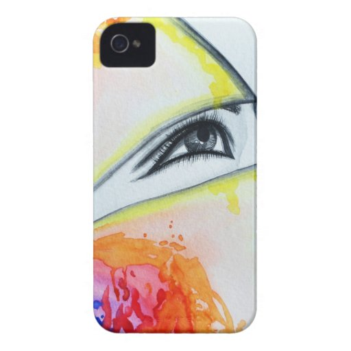 HIjab iPhone 4 Case-Mate Funda