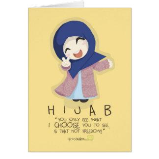 Hijab is Freedom Greeting Card