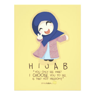 Hijab is Freedom Flyer
