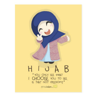 Hijab is Freedom Post Cards