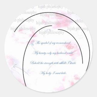 Hijab Philosophy Sticker