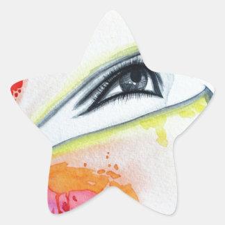 HIjab Star Sticker