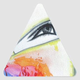 HIjab Triangle Sticker