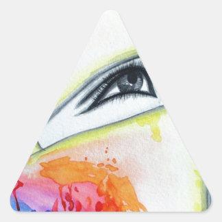 HIjab Triangle Sticker