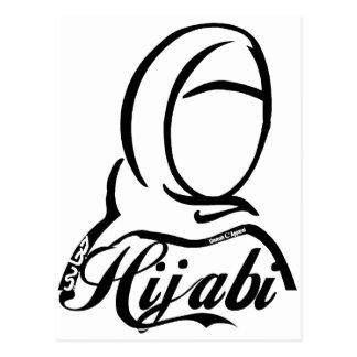 Hijabi Postcard