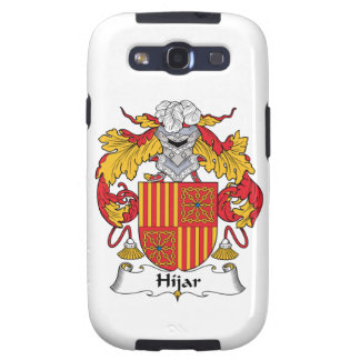 Hijar Family Crest Galaxy S3 Covers