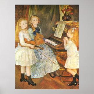 Hijas de Catulle Mendes de Pedro Renoir Póster