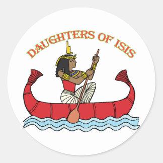 Hijas de ISIS Pegatina Redonda