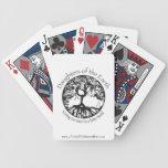 Hijas de los naipes de la tierra cartas de juego