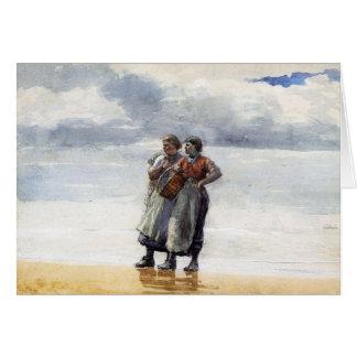 Hijas del mar tarjeta de felicitación