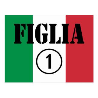 Hijas italianas: Uno de Figlia Numero Postales