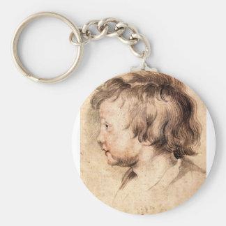 Hijo Albert de Paul Rubens Llavero Redondo Tipo Pin