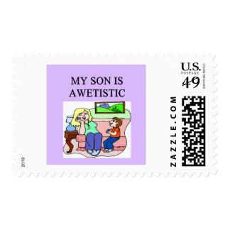 hijo autístico sellos