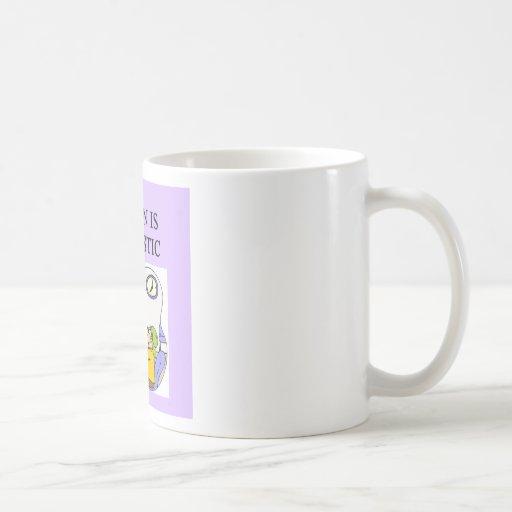 hijo autístico tazas de café