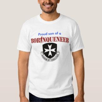 Hijo - camiseta de Borinqueneer Poleras