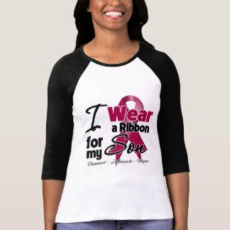 Hijo - cinta del mieloma múltiple t-shirts